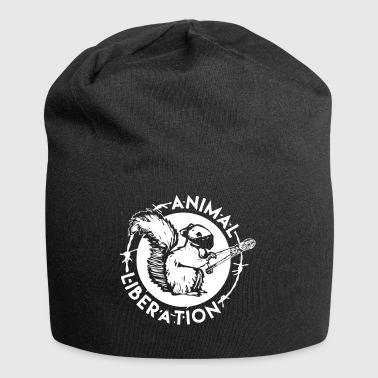 Animal Liberation Squirrel - Jersey Beanie