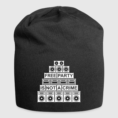 FREE PARTY IS NOT A CRIME - SOUND SYSTEM - Jersey Beanie