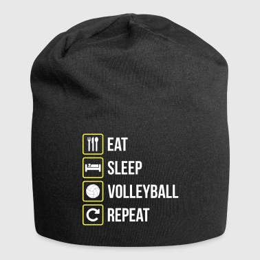 Eat Sleep Volleyball Repeat - Jersey-Beanie