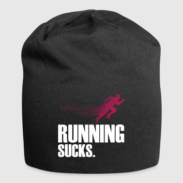 Running Sucks - Jersey Beanie