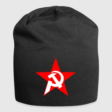 hammer and sickle - Jersey Beanie