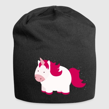 Fluffy unicorn - Jersey Beanie