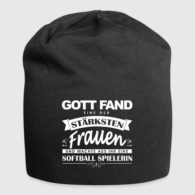 Softball shirt-god found - Jersey Beanie