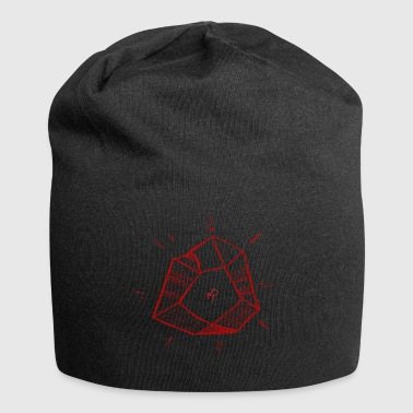 Red Philosopher's Stone - Jersey Beanie