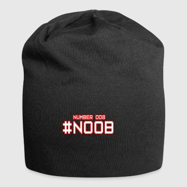 Noob or boobs? - Jersey Beanie
