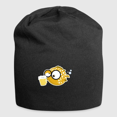 Puffer Pops - Puffer fish with beer - Jersey Beanie