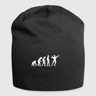 Evolution bodybuilder kraftsport sport athlete - Jersey Beanie