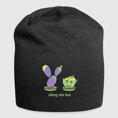 cactus - Beanie in jersey