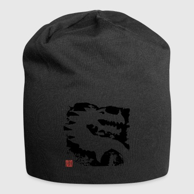 Black Dragon - Beanie in jersey