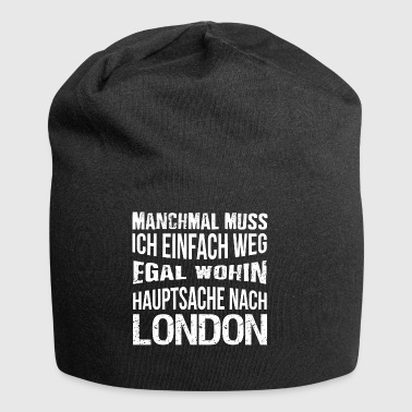 London T-Shirt - Ich liebe London - Jersey-Beanie