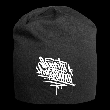HACKER GRAFFITI TAG - CYBER SAFETY EXPERT - Jersey Beanie