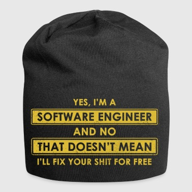Software-Ingenieur - Jersey-Beanie