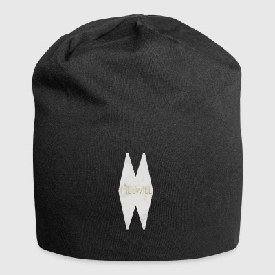 MELWILL white - Jersey Beanie