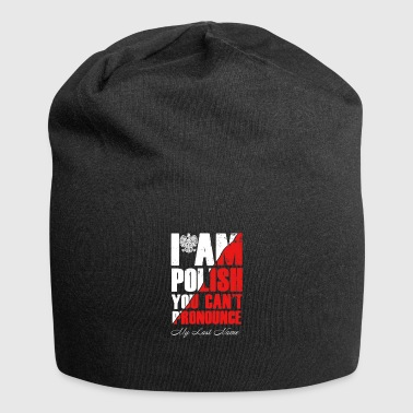 I am Polish - Jersey Beanie