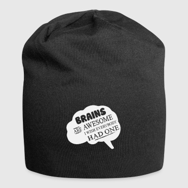 Brains are cool! - Jersey Beanie