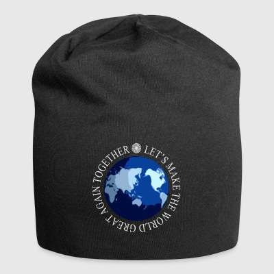 Let's Make The World Great Again - Jersey Beanie