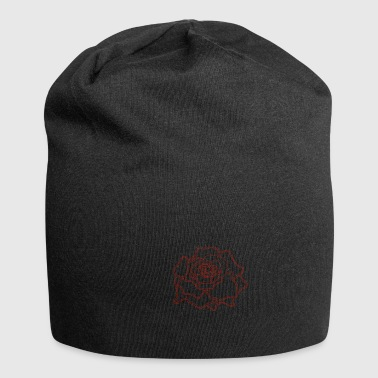 rose - Bonnet en jersey