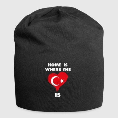 Home is where your heart is Turkey - Jersey Beanie