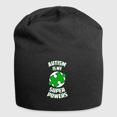 Autism is my superpower funny sayings - Jersey Beanie