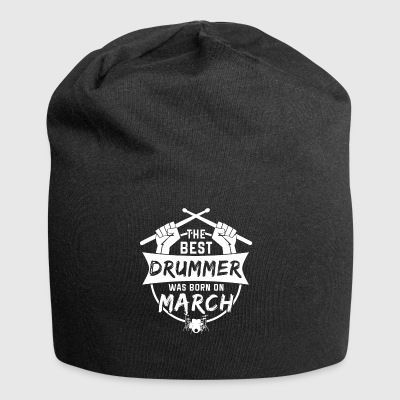 The best drummers were born in March - Jersey Beanie