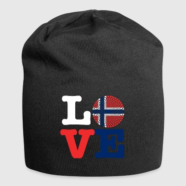 NORWAY HEART - Jersey Beanie
