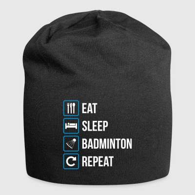 Eat Sleep Badminton Gjenta - Jersey-beanie
