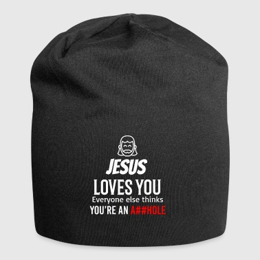 Jesus loves you - Jersey Beanie