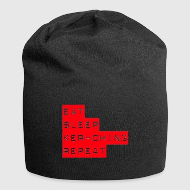 Eat Sleep Kerching Repeat - Jersey Beanie
