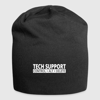 tech support - Jersey-Beanie