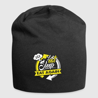 Eat Sleep BBQ Grill Grilling Gift - Jersey-beanie
