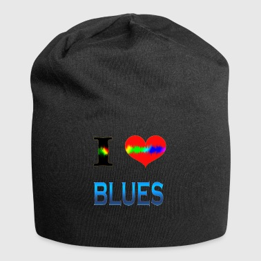 I Love BLUES - Jersey-Beanie