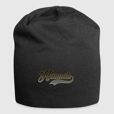 Nome Hannah - Beanie in jersey