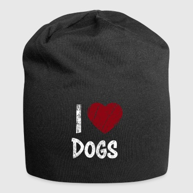 I Love Dogs used Look - Jersey Beanie