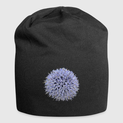 Large lilac flower - Jersey Beanie