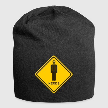 Be careful nerd - Jersey Beanie