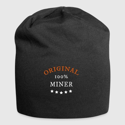 Original 100% Miner, Bitcoin, cryptocurrency - Jersey-Beanie