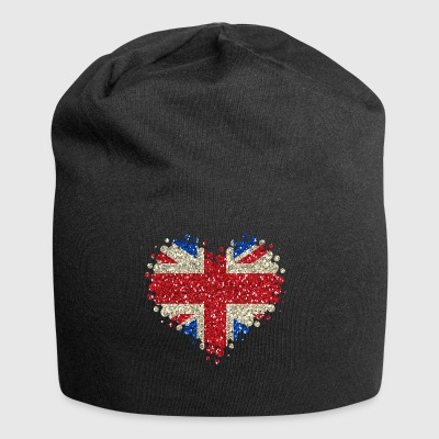 I Love Great Britain - England Union Jack - Jersey Beanie
