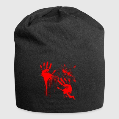 Blood Halloween Blood-stained horror thriller - Jersey Beanie