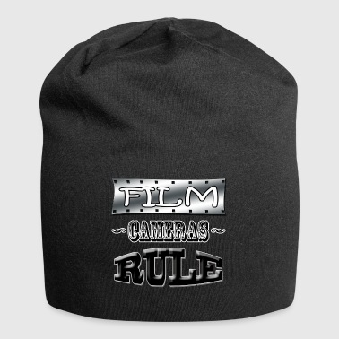 film cameras rule - Jersey Beanie