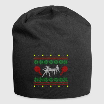 table tennis Ugly Christmas sweater christmas - Jersey Beanie