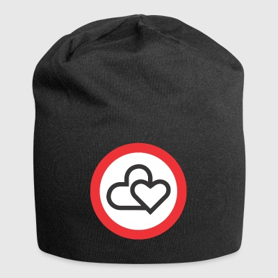 amour Attention - Bonnet en jersey