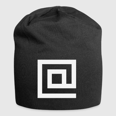 Bei Squared - Jersey-Beanie