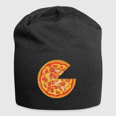amigo Partnerlook pizza Partners BFF Love Part 1 - Gorro holgado de tela de jersey