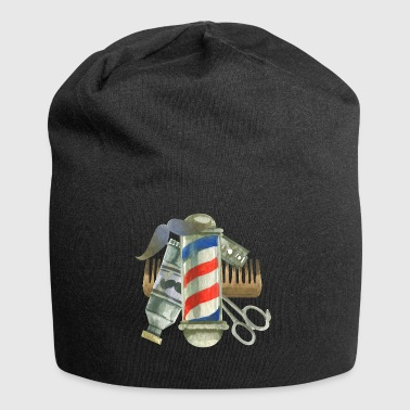 Cool Barber Tools. Gifts for Barber, Stylist Salon - Jersey Beanie