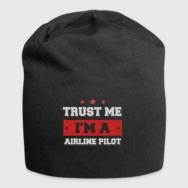 Trust me I'm a airline pilot - Jersey-Beanie