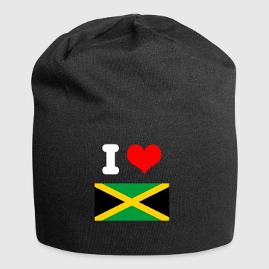 I love Jamaica design for fans as a gift idea - Jersey Beanie