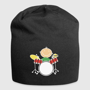 Child plays drums Drumsticks - Jersey Beanie