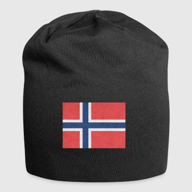 Norway flag motif design gift idea Cool - Jersey Beanie