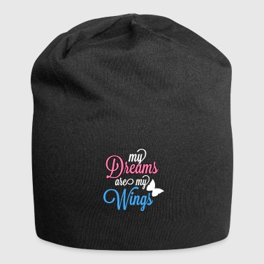 My dreams are my wings - Valentine - Jersey Beanie