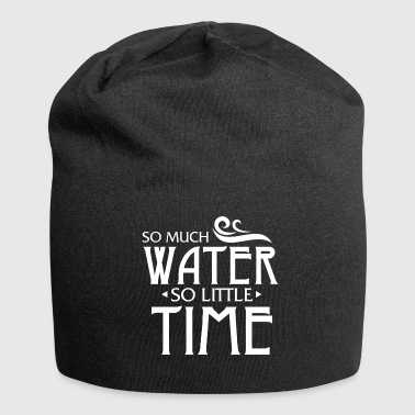 Swimmer Gift - Swimming lifeguard water - Jersey Beanie